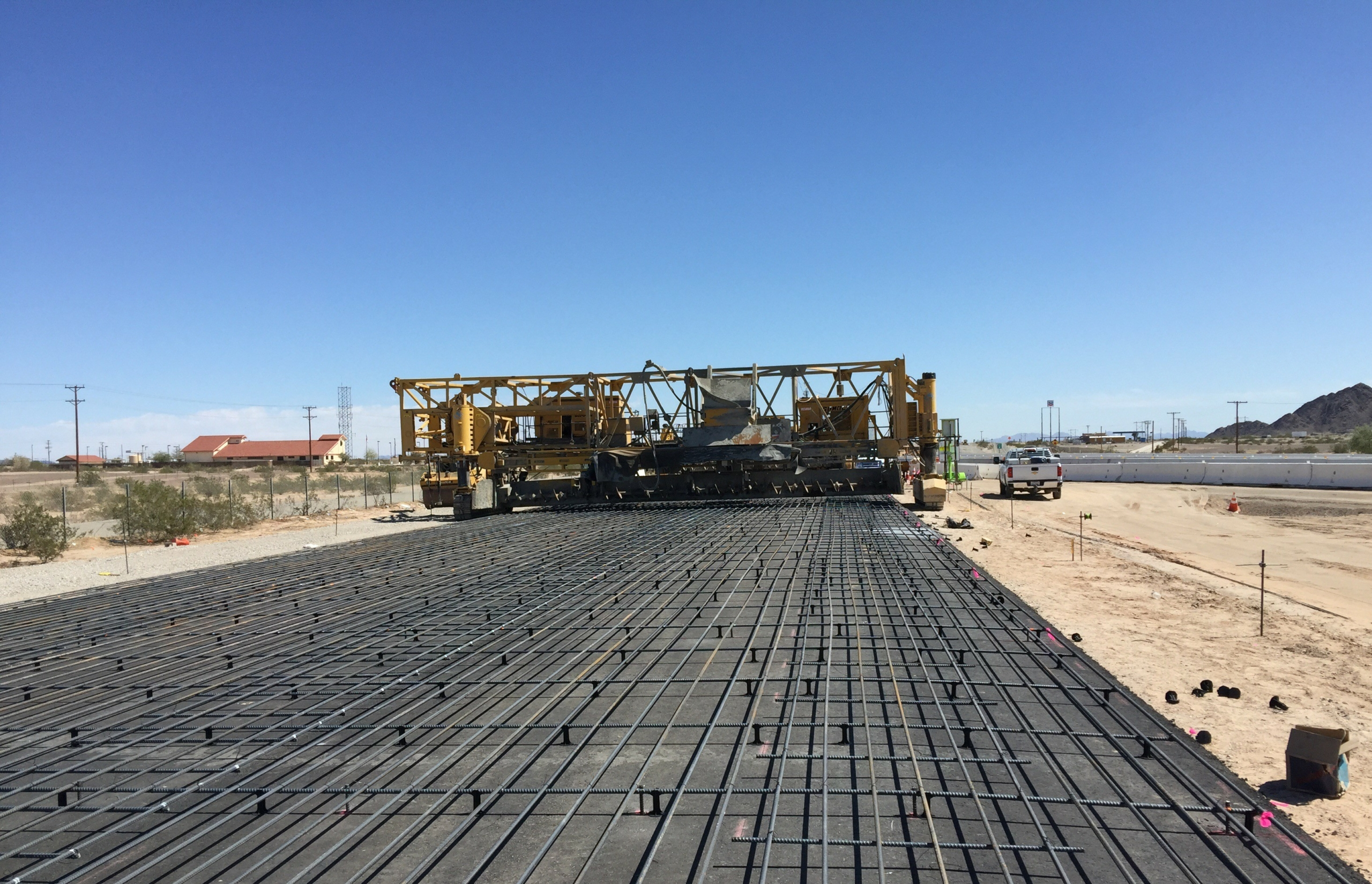 Paving Concrete Overlay California