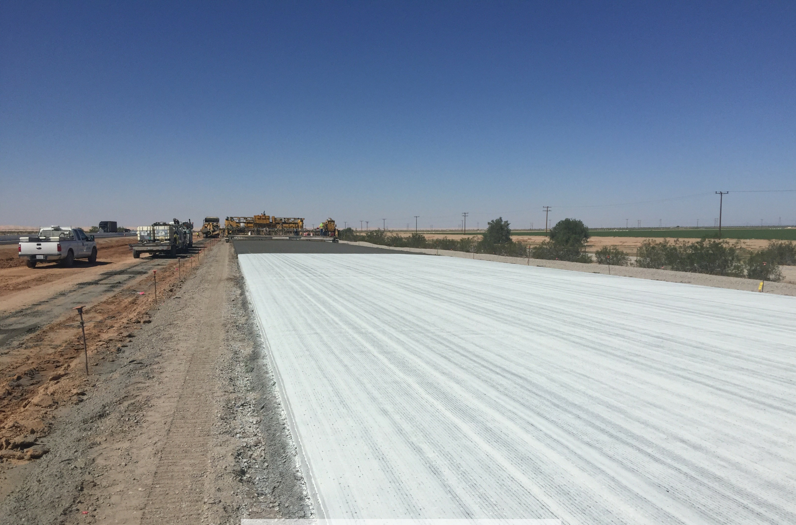 Concrete Overlay Caltrans Imperial Valley