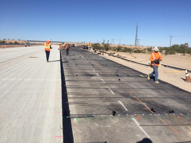 CRC Pavement Construction I-8