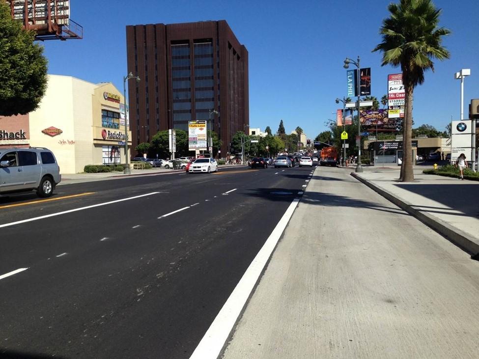 BRT Bus lane pavement