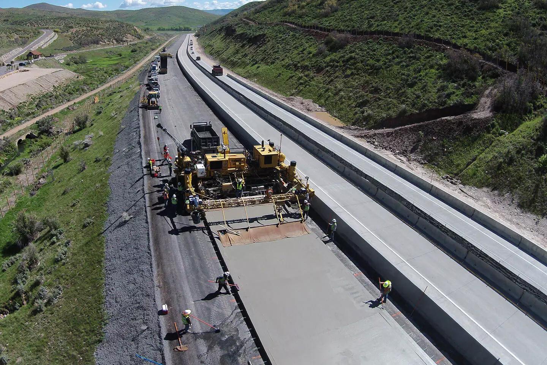 Portland Limestone Cement Paving in Utah